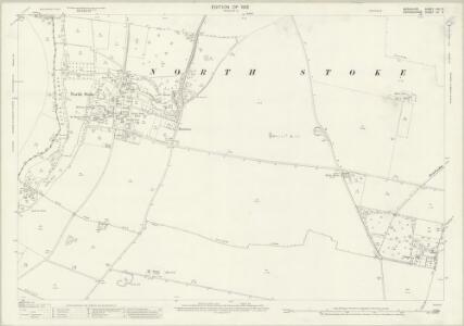 Berkshire XXII.3 (includes: Checkendon; Cholsey; Crowmarsh; Ipsden) - 25 Inch Map