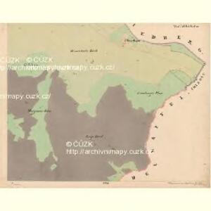 Reiterschlag - c5640-2-005 - Kaiserpflichtexemplar der Landkarten des stabilen Katasters
