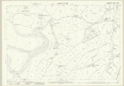 Flintshire XXII.10 (includes: Bangor Is Coed; Erbistock; Overton) - 25 Inch Map