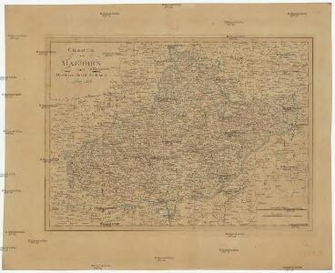 Charte von Maehren und Oesterreichisch Schlesien