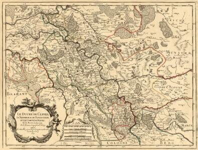 Le Duché de Cleves; la Seigneurie de Ravenstein, et le Comté de Meurs.