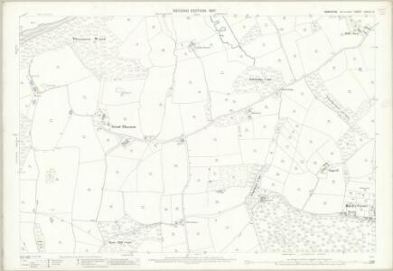 Hampshire and Isle of Wight LXXXIX.12 (includes: Calbourne; Cowes; Newport) - 25 Inch Map