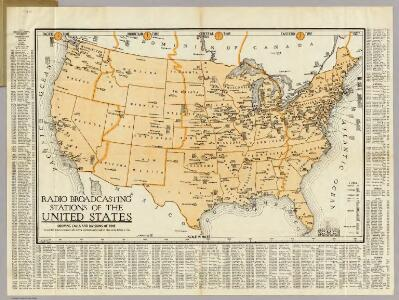Radio Broadcasting Stations Of The United States.