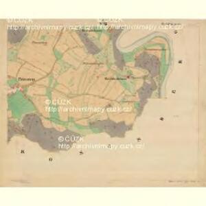 Böhm. Gillowitz - c2059-2-008 - Kaiserpflichtexemplar der Landkarten des stabilen Katasters