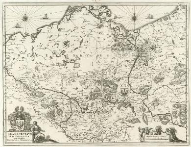 Brandebvrgvm Marchionatvs cum Ducatibus Pomeraniae et Mekelenbvrgi