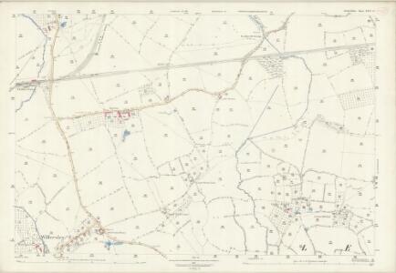 Herefordshire XXIV.12 (includes: Eardisley; Kinnersley; Letton; Willersley) - 25 Inch Map