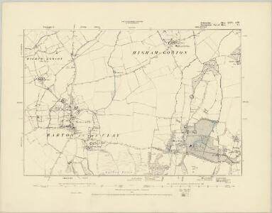 Bedfordshire XXV.NW - OS Six-Inch Map