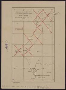 Tableau d'assemblage de la carte du sénégal au 100 000° en cours d'exécution