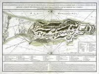 Plan du promontoire, de la ville et du port de Gibraltar