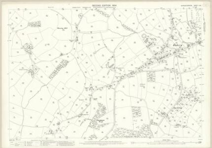 Worcestershire X.13 (includes: Belbroughton; Birmingham; Bromsgrove; Romsley) - 25 Inch Map