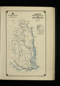 Harta Cailor de Comunicatie din Jud. Covurluiu
