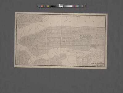 Map of New York City south of 118th street.