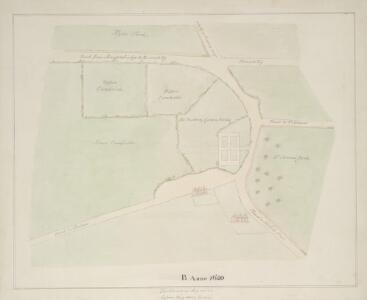 Drawn plan of the Goring Estate] 3