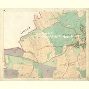Chodenschloss - c7957-1-004 - Kaiserpflichtexemplar der Landkarten des stabilen Katasters