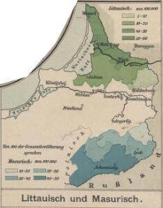 Litauisch und Masurisch