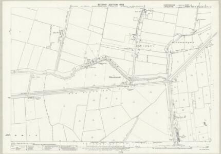 Cambridgeshire VI.3 (includes: Parson Drove; Sutton St Edmund) - 25 Inch Map