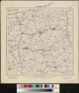 Meßtischblatt 921 : Hohenkirchen, 1893