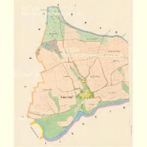 Zettendorf - c0749-1-001 - Kaiserpflichtexemplar der Landkarten des stabilen Katasters