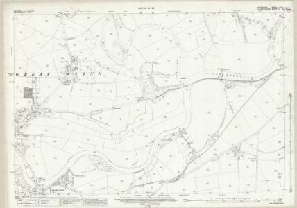 Derbyshire LVI.9 (includes: Breaston; Castle Donington; Draycott and Church Wilne; Lockington Hemington; Shardlow and Great Wilne) - 25 Inch Map