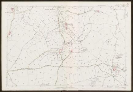 Devon CXV.15 (includes: Berry Pomeroy; Ipplepen; Marldon) - 25 Inch Map