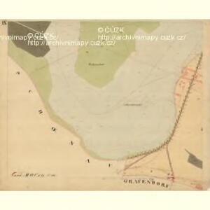 Grussbach - m0920-1-009 - Kaiserpflichtexemplar der Landkarten des stabilen Katasters