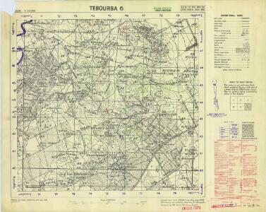 Tunisia 1: 25,000, Tebourba 6