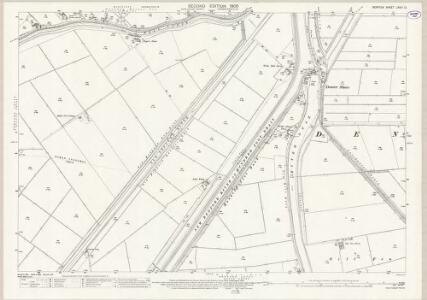 Norfolk LXVIII.12 (includes: Denver; Downham West; Nordelph) - 25 Inch Map