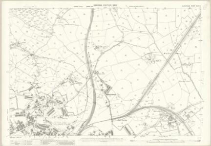 Glamorgan XLVII.13 (includes: Barry; St and rews Major) - 25 Inch Map