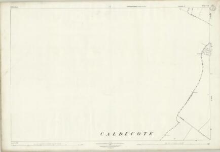 Bedfordshire I.14 (includes: Chelveston Cum Caldecott; Dean and Shelton; Melchbourne and Yelden; Raunds) - 25 Inch Map