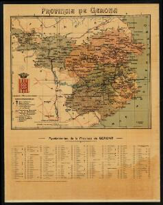 Provincia de Gerona / revisado por la Exma. Diputación Provincial