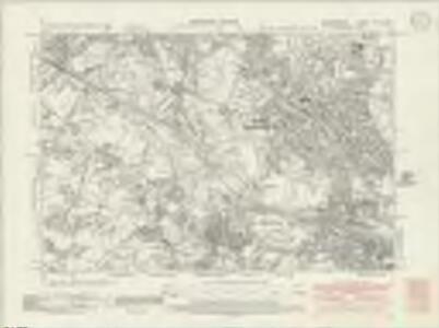 Staffordshire LXVIII.SW - OS Six-Inch Map