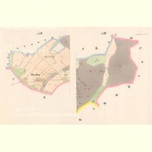 Wtschelnitz - c5204-2-006 - Kaiserpflichtexemplar der Landkarten des stabilen Katasters