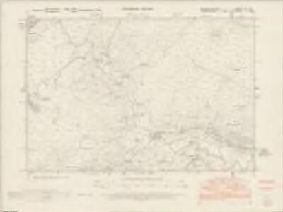 Merionethshire XIII.NE - OS Six-Inch Map