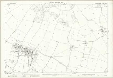 Gloucestershire XIII.10 (includes: Alderton; Dumbleton; Toddington) - 25 Inch Map