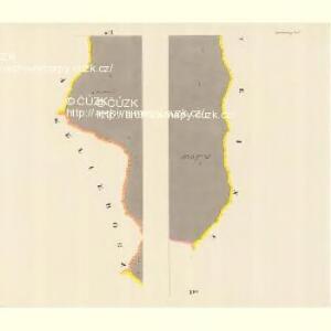 Markersdorf (Zradezna) - m0890-1-005 - Kaiserpflichtexemplar der Landkarten des stabilen Katasters