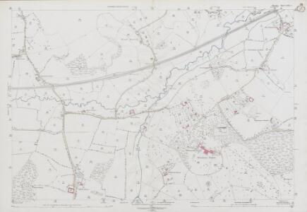 Wiltshire LXIX.2 (includes: Donhead St Andrew; Semley; Tisbury; West Tisbury) - 25 Inch Map