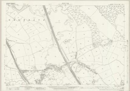 Yorkshire CCXCV.11 (includes: Aston Cum Aughton; Orgreave; Sheffield; Treeton) - 25 Inch Map