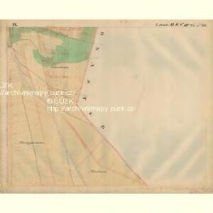 Urbau - m3488-1-009 - Kaiserpflichtexemplar der Landkarten des stabilen Katasters