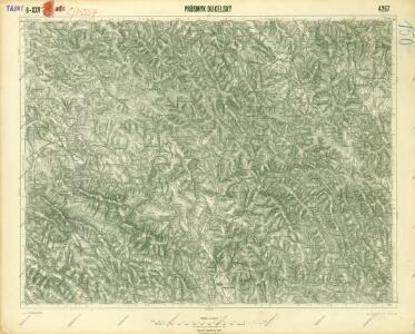 III. vojenské mapování 4267