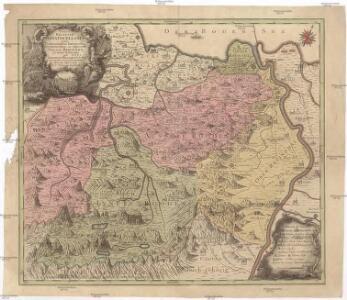 Pagus Helvetiae abbatiscellanus cum com[m]unitatibus interioribus et exterioribus, ac adjacente Valle Rhenana, accurate delineatus
