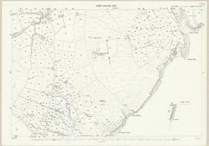 Isle of Man VIII.11 & 12 - 25 Inch Map