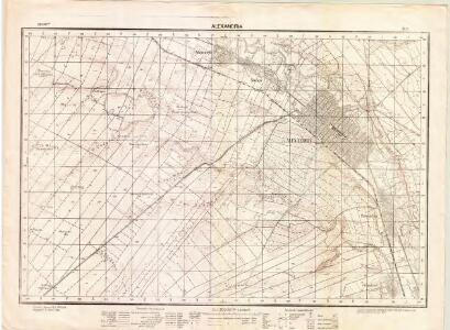 Lambert-Cholesky sheet 3838 (Alexandria)
