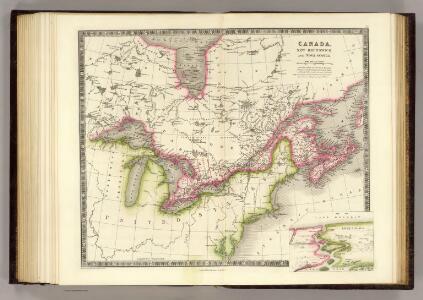 Canada, New Brusnwick, and Nova Scotia.