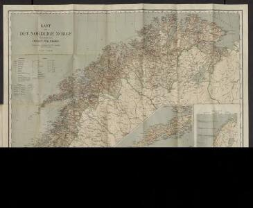 Kart over det nordlige Norge