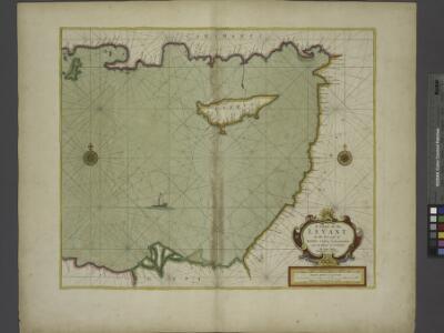 A chart of the LEVANT or the sea coast of Egypt, Syria, Caramania and the Island Cyprus
