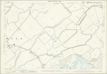 Sussex XLVI.10 (includes: Broomhill) - 25 Inch Map