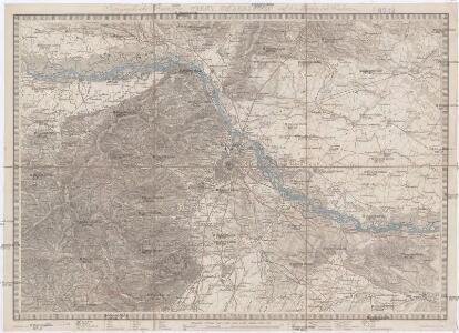 Topographische Karte von Wien's Umgebungen auf 4 Meilen im Umkreise