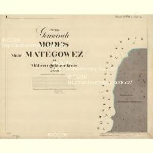 Modes - m1739-1-001 - Kaiserpflichtexemplar der Landkarten des stabilen Katasters