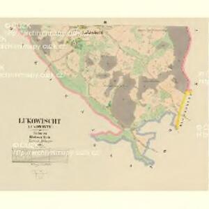 Lukowischt (Lukowiste) - c4315-1-002 - Kaiserpflichtexemplar der Landkarten des stabilen Katasters