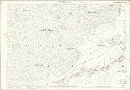 Worcestershire XIII.4 (includes: Bewdley; Rock) - 25 Inch Map